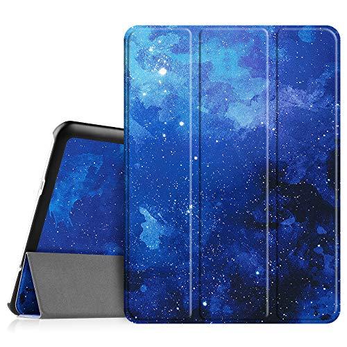 Fintie Hülle für Samsung Galaxy Tab S2 9.7 T810N / T815N / T813N / T819N 24,6 cm (9,7 Zoll) Tablet-PC - Ultra Schlank Ständer Cover Schutzhülle mit Auto Schlaf/Wach Funktion, (Z-Sternenhimmel)