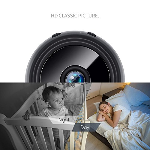 FREDI HD1080P WIFI telecamera Spia videocamera nascosta Microcamera Wireless Mini Camera spia microtelecamera wifi Hidden Spy Cam Videocamera di sorveglianza Interno IP telecamera di sorveglianza - 6
