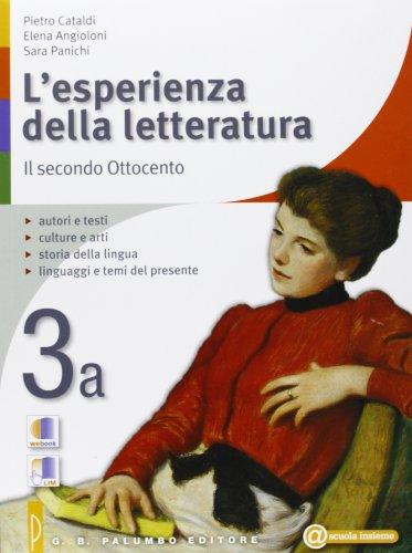 L'esperienza della letteratura-Quaderno studiare con successo. Per le Scuole superiori: 3
