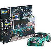 Revell 67032–Maqueta de Auto 67032Set 1: 24–Porsche 934RSR Vaillant en Escala 1: 24, Nivel 3, orgin Algas fidelidad imitación con Muchos Detalles de