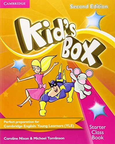 Kid's Box Starter Class Book with CD-ROM 2nd edition by Nixon, Caroline, Tomlinson, Michael (2014) Paperback