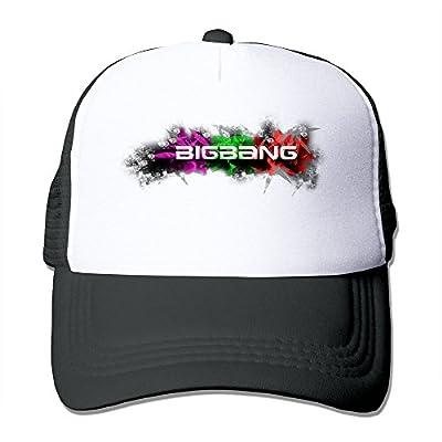 Facsea Big Bang Korean K-pop Boy Band Mesh Adjustable Caps Sun Hat Unisex Custom Snapbacks Black von Facsea bei Outdoor Shop