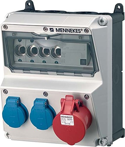 MENNEKES - CEE COMBINADA KST GR IP44 AMAXX 1X16A5P400V