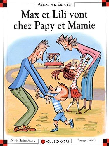 Max et Lily vont chez papy et mamie