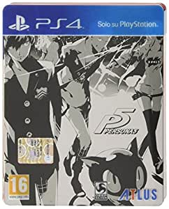 Persona 5 - Edizione Day-One Steelbook - PlayStation 4