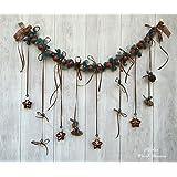 Weihnachtsgirlande, Weihnachten, Weihnachtsdeko, Naturdeko,