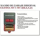 Mando Garaje Original CLEMSA CELINSA SAW CYACSA DATAVID IGUEL JCM - BINARIO TRINARIO - Mandos Antiguos con Pestañas MD20. NO COMPATIBLE CON QUARZ / CUARZO
