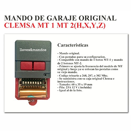 Mando Garaje Original CLEMSA CELINSA Saw CYACSA DATAVID