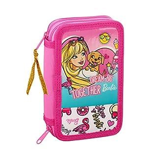 Barbie Celebration officielle Trousse scolaire comprend 28utiles, 125x 40x 195mm