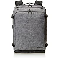 AmazonBasics Slim Carry On Travel Backpack, Grey - Weekender