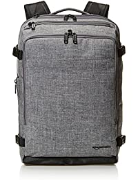 AmazonBasics Slim Carry On Travel Backpack - Grey