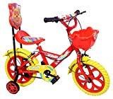 #3: Kids Bicycle for 2 to 5 Years Kids NY Bikes Aqua 14T Steel (Red & Yellow)