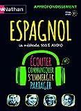 Espagnol : la méthode 100% audio : écouter, communiquer, s'immerger, partager / Juan Gonzales   Gonzalez, Juan (19..-....) - linguiste