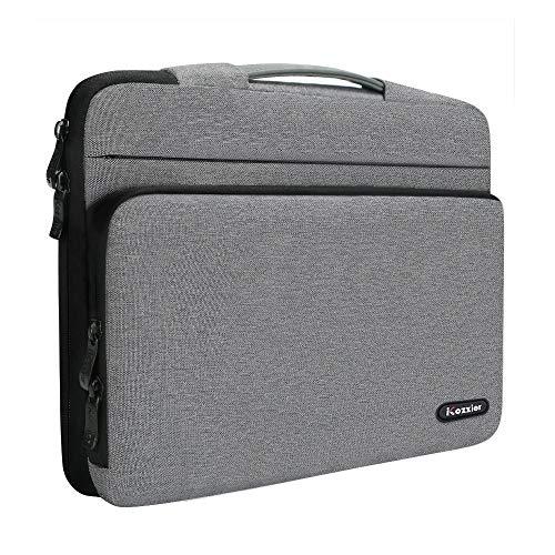 iCozzier 13-13,3 Zoll große Seitentasche Laptop Schutzhülle Aufbewahrungstasche für 13