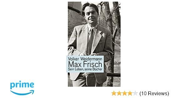 max frisch sein leben seine bcher amazonde volker weidermann bcher - Max Frisch Lebenslauf