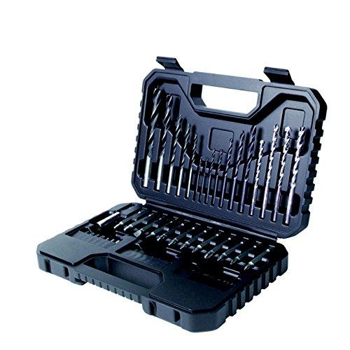 BLACK+DECKER A7217-XJ Set con Accessori per Forare ed Avvitare, 50 Pezzi