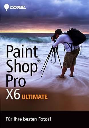 Corel PaintShop Pro X6 Ultimate [Download]