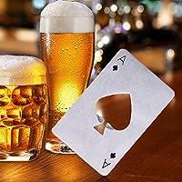 aliciashouse carta da poker birra apribottiglie birra soda tappo di bottiglia Opener