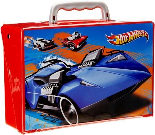 Mattel 2862 - Hot Wheels Autosammelkoffer für 24 Autos