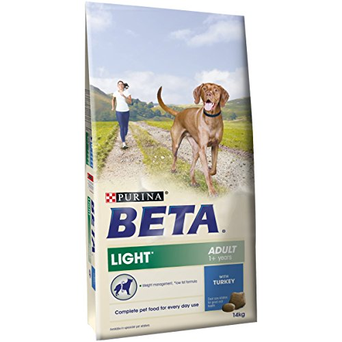 51x68pGb6jL BEST BUY UK #1PURINA BETA Adult Light Dry Dog Food with Turkey, 14 kg price Reviews uk