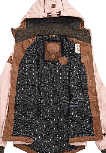 Naketano Female Jacket The Magic Stick Pimmel Rose Buffet