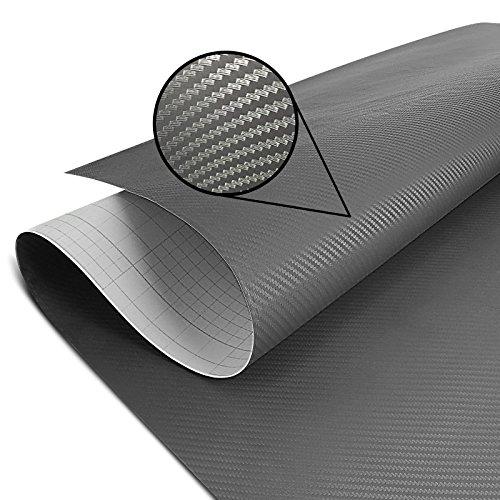 Preisvergleich Produktbild Wrapping Schutzfolie Carbon grau 75x100cm Triumph Bonneville Bobber / T100 / SE,  Daytona 675 / R,  Speed Triple / R / S,  Street Triple / R / RS / Rx / S