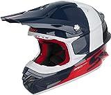 Scott 350 Pro Track MX Enduro Motorrad / Bike Helm blau/weiß/rot 2017: Größe: M (57-58cm)