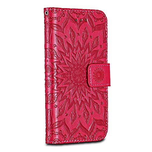 Card Slot Ripple for Google Pixel 2 Case Bravoday Rose Gold High Quality Pu Leather Google Pixel 2 Case Cover Wallet Leather Flip Case