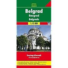 Freytag Berndt Stadtpläne, Belgrad - Maßstab 1:15 000