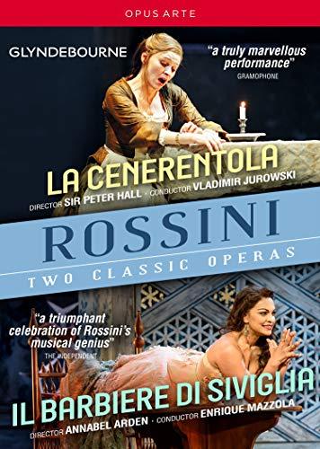 Rossini: Aschenputtel / Der Barbier Von Sevilla (Glyndebourne 2018) [3 DVDs]