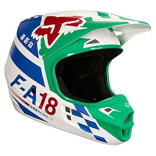 Fox Helmet V de 1sayak, Green, Tamaño M