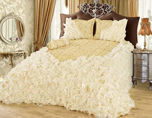 Tagesdecke Bettüberwurf Steppdecke Decke Sofaüberwurf Überwurf Set - hochwertige Bettdecke für...