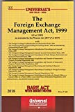 Foreign Exchange Management Act, 1999 along with allied Rules and Regulations & Orders
