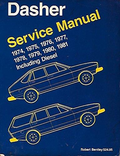 Bently-motoren (Volkswagen Dasher Service Manual: 1974-1981: Including Diesel (Volkswagen Service Manuals))