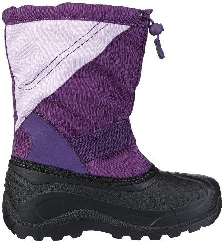Kamik  SnowtraxG, Bottes de ski mixte enfant Violet - Violett (eggplant EGG)