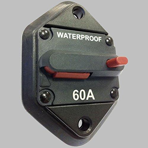 Preisvergleich Produktbild Sicherungs-Automat 60Amp mit Resetschalter / Einbauversion