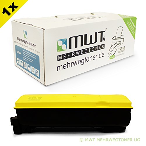 Preisvergleich Produktbild 1x MWT Toner für Kyocera FS-C 5100 DN ersetzt 1T02HLAEU0 TK-540Y Gelb TK540Y Yellow