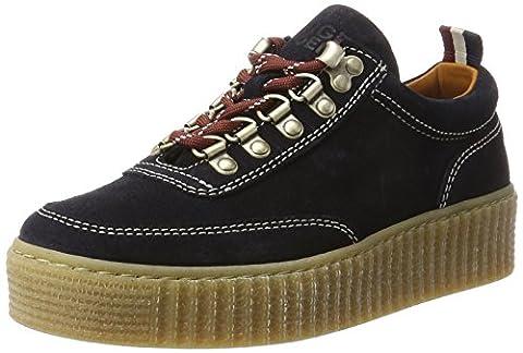 Hilfiger Denim K1385elly 1b, Sneakers Basses Femme, Bleu (Midnight), 37 EU