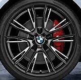 Original BMW Alufelge 3er F30-F31 M Doppelspeiche 624 Schwarz matt in 20 Zoll für vorne