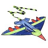 Everpert Kid Flying Kite fantaisie Avion Forme cerfs-volants extérieur enfants jouet