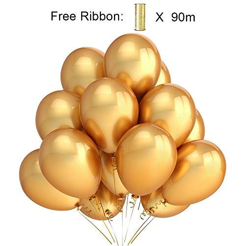 PuTwo-Globos-100-Piezas-12-inch-Ltex-balloons-para-Fiesta-de-Cumpleaos-del-decoraciones-de-la-boda