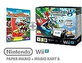 Nintendo Wii U Konsole Premium Pack 32GB + Mario Kart 8+ Paper Mario Farbe...