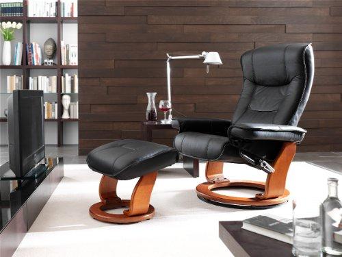 Relaxsessel mit Hocker Robas Lund 64026SH5 Hamilton