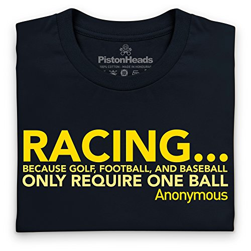 PistonHeads Anonymous Quote T-Shirt, Damen Schwarz