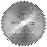 S&R Lama sega circolare 96 Denti 254x30x3,2 mm multimateriale Uni Cut per Sega da Banco