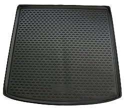 AD Tuning TM30024 Passform Gummi Kofferraumwanne, rutschfest, schwarz