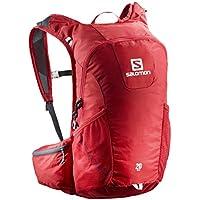 Salomon Zaino per la corsa, Trail 20, 20 L, 48 x 24 x 15 cm, Rosso/Grafite, L40133800