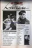 FIGARO LITTERAIRE (LE) [No 13621] du 14/06/1988 - LES LIVRES DES VACANCES - GABRIEL MATZNEFF RENAUD MATIGNON - RENE-VICTOR PILHES - PIERRE MOINOT - F. GANGE - ANDRE BRINCOURT - CLAUDEL PAR G. ANTOINE.
