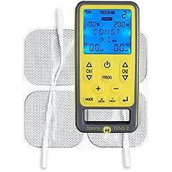 TensCare Sports TENS Electrostimulateur 2 Canaux pour TENS/EMS/Massage