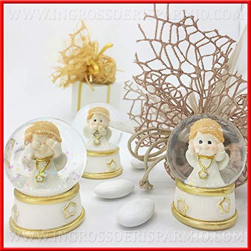 Ingrosso e Risparmio Schön und schont Schneekugeln aus Glas mit Nicht-Vedo, Nicht verblassen, Nicht verblassen, Idee Geschenke, Dekoration für günstige Weihnachten Kit 1 pz.